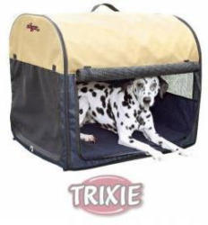 Trixie Dog Transport-Hütte blau XS-S 40×40×55cm