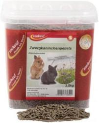 Zookauf Nager Futter Zwergkaninchen Pellet Eimer 3,5kg
