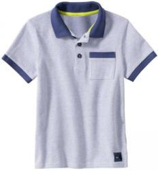 Jungen-Poloshirt mit Aufnäher