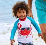NKD Kinder-Badeshirt mit Krabben-Motiv