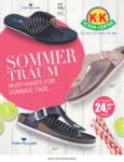 K+K SCHUH-CENTER Sommertraum - bis 08.06.2019