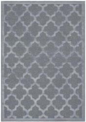 Kurzflorteppich Turkey - Bergama Silber, 160x230cm