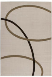 Flachflor-Teppich Rohulla 4010 Elfenbein, 120x170cm