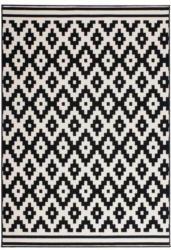 Kurzflorteppich Now! 300 Schwarz/Weiß, 80x150cm