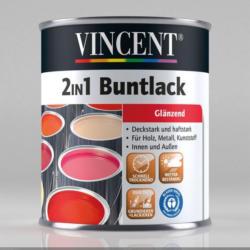 Vincent 2in1 Buntlack schokobraun