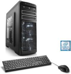CSL Gaming PC   Intel Core i5-8400   GTX 1050 Ti   16 GB DDR4   SSD »Speed T5562 Windows 10 Home«