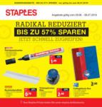 Staples Radikal reduziert! Bis zu 57% sparen! - bis 06.07.2019
