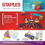 Staples Startklar für die Schule - bis 02.08.2019