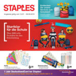Staples Startklar für die Schule - bis 06.09.2019