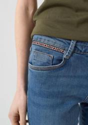 s.Oliver Smart Straight: Jeans mit Etno-Tape