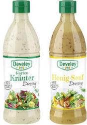 Develey Salatliebe Dressing versch. Sorten, jede 500-ml-Flasche