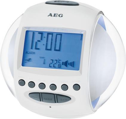 AEG. MRC 4117 weiss - Uhrenradio