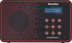 Technisat Techniradio 2 schwarz-rot - Design-Radio