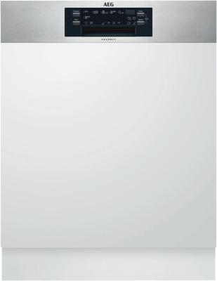 AEG FEE63800PM edelstahl - Einbau-Geschirrspüler