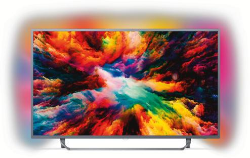 Philips 65PUS7303/12 dunkelsilber 65 Zoll - LED-Fernseher