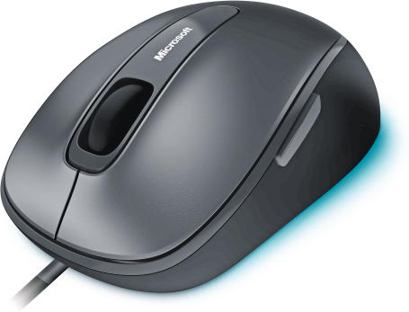 Microsoft Comfort Mouse 4500 grau - Maus