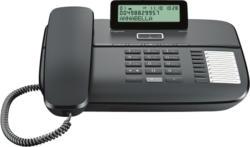 Gigaset DA710 schwarz - Festnetz-Telefon (für analogen Anschluß)