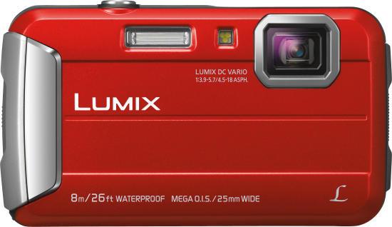 Panasonic DMC-FT30EG-R rot - Digitale Kompaktkamera