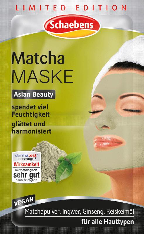 Schaebens Matcha Maske