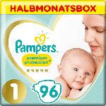 dm-drogerie markt Pampers Windeln Premium Protection, Gr.1 Newborn, 2-5kg, HalbmonatsBox
