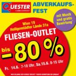 Quester Baustoffhandel GmbH Quester Fliesen-Outlet - bis 15.06.2019