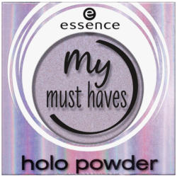 my must haves holo powder Lidschatten