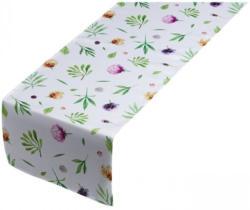 Tischläufer mit floralen Motiven, ca. 40x140cm