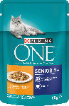 dm-drogerie markt PURINA ONE Nassfutter für Katzen, Senior7, mit Huhn und grünen Bohnen