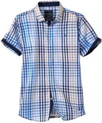 Herren-Hemd mit mehrfarbigem Karo-Muster