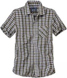 Herren-Seersucker-Hemd mit modischen Farben