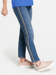 Gerry Weber Hose Jeans lang »Jeans mit Galonstreifen Skinny«