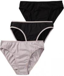 Damen-Minislip mit Pünktchen-Muster, 3er Pack