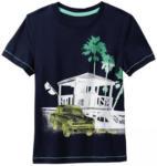 NKD Jungen-T-Shirt mit Auto-Frontaufdruck