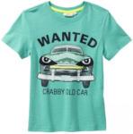 NKD Jungen-T-Shirt mit coolem Auto-Frontaufdruck