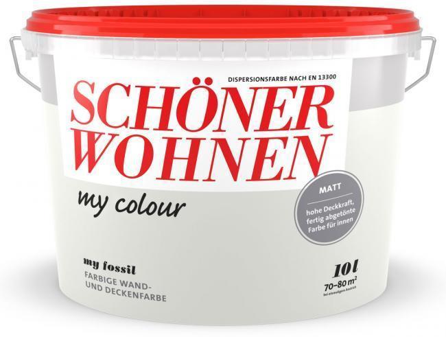 Schoner Wohnen Farbe My Colour Wandfarbe Fossil Nur 39 99 Hellweg Baumarkt Angebot Barcoo