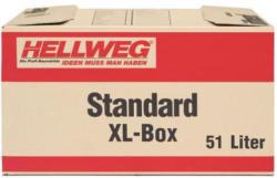 Hellweg-Umzugskarton Standard XL,  51 L