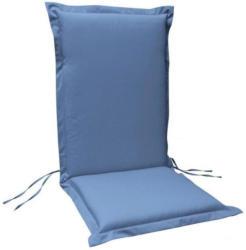 Sitzauflage Hochlehner Premium, 4 Stück, extra dick, Blau