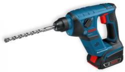 Bosch Akkubohrhammer GBH 18 V-LI Compact Professional - Lieferumfang: 2 x 3,0 Ah Li-Ion Akku, Schnellladegerät AL 1860 CV, L-BOXX
