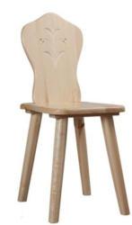 Stuhl 463 Kiefer Vollholz massiv natur - Abmessung 38 x 45 cm (B x H)