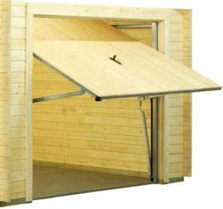 Schwingtor für Garage Cornus C24, naturbelassen
