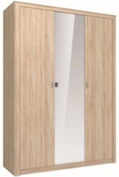 Drehtürenschrank / Kleiderschrank Kamor 14, Farbe: Eiche Sonoma - 201 x 143 x 52 cm (H x B x T)