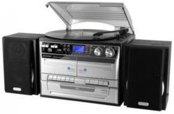 MP3 Musik-Center mit Plattenspieler , Soundmaster