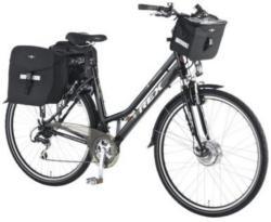 Damen ALU-Elektro-Trekking-Bike, Rex, 28 Zoll, 21-Gang-SHIMANO-»ACERA«-Kettenschaltung