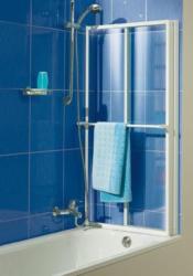 Badewannenaufsatz, Sicherheitsglas (3-tlg.)