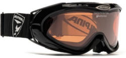 Skibrille, schwarz, Alpina, »Colambo«, Made in Germany