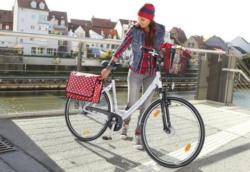 ALU-Damen-Cityrad in 26 Zoll oder 28 Zoll, 21-Gang-SHIMANO-Kettenschaltung