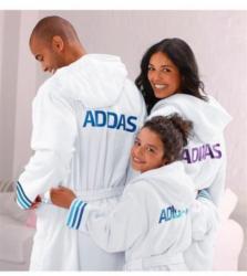 Bademantel, Adidas, für Kinder