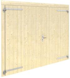 Holztor für Garage Cornus C23, naturbelassen