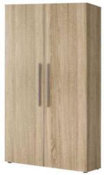 Schuhschrank Furna 19, Farbe: Sonoma Eiche - Abmessungen: 191 x 100 x 34 cm (H x B x T)