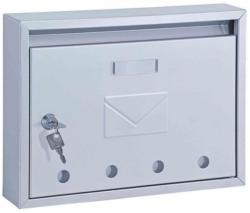 Edelstahl-Briefkasten Imola inox